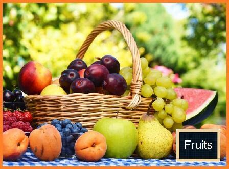 Panier FRUITS bio 2kg France/Italie